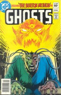 Cover Thumbnail for Ghosts (DC, 1971 series) #111 [Newsstand]