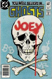 Cover Thumbnail for Ghosts (DC, 1971 series) #112 [Newsstand]