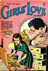 Cover Thumbnail for Girls' Love Stories (DC, 1949 series) #16