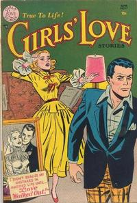 Cover Thumbnail for Girls' Love Stories (DC, 1949 series) #17