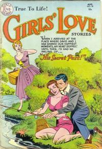 Cover Thumbnail for Girls' Love Stories (DC, 1949 series) #30