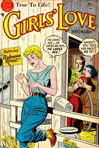 Cover Thumbnail for Girls' Love Stories (DC, 1949 series) #32