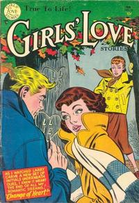 Cover Thumbnail for Girls' Love Stories (DC, 1949 series) #33