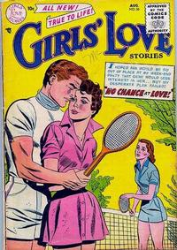 Cover Thumbnail for Girls' Love Stories (DC, 1949 series) #36