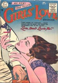 Cover Thumbnail for Girls' Love Stories (DC, 1949 series) #37