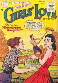 Cover Thumbnail for Girls' Love Stories (DC, 1949 series) #38