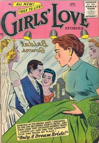 Cover Thumbnail for Girls' Love Stories (DC, 1949 series) #42