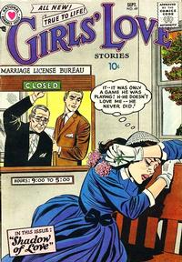 Cover Thumbnail for Girls' Love Stories (DC, 1949 series) #49