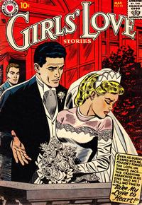 Cover Thumbnail for Girls' Love Stories (DC, 1949 series) #53
