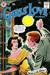 Cover Thumbnail for Girls' Love Stories (DC, 1949 series) #65