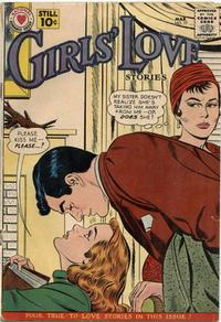 Cover Thumbnail for Girls' Love Stories (DC, 1949 series) #77