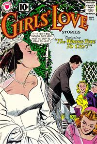 Cover Thumbnail for Girls' Love Stories (DC, 1949 series) #81