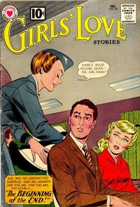 Cover Thumbnail for Girls' Love Stories (DC, 1949 series) #83
