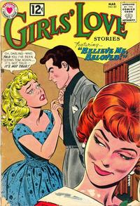 Cover Thumbnail for Girls' Love Stories (DC, 1949 series) #85