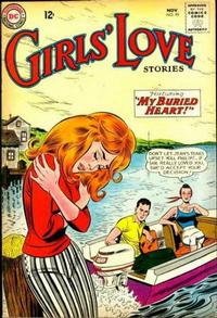 Cover Thumbnail for Girls' Love Stories (DC, 1949 series) #99