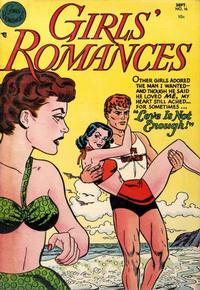 Cover Thumbnail for Girls' Romances (DC, 1950 series) #16
