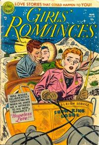 Cover Thumbnail for Girls' Romances (DC, 1950 series) #25