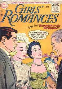 Cover Thumbnail for Girls' Romances (DC, 1950 series) #33