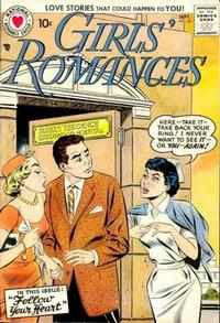 Cover Thumbnail for Girls' Romances (DC, 1950 series) #46