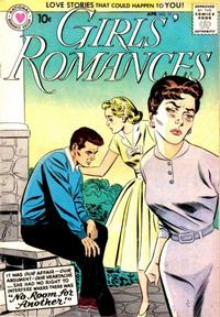 Cover Thumbnail for Girls' Romances (DC, 1950 series) #51