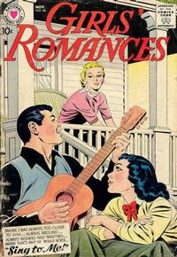 Cover Thumbnail for Girls' Romances (DC, 1950 series) #56
