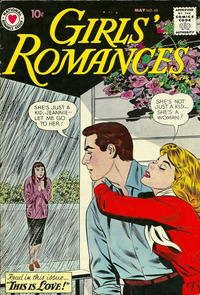 Cover Thumbnail for Girls' Romances (DC, 1950 series) #68