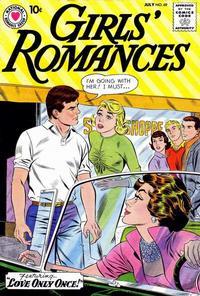 Cover Thumbnail for Girls' Romances (DC, 1950 series) #69