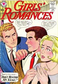 Cover Thumbnail for Girls' Romances (DC, 1950 series) #73