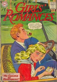 Cover Thumbnail for Girls' Romances (DC, 1950 series) #92