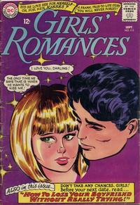 Cover Thumbnail for Girls' Romances (DC, 1950 series) #111