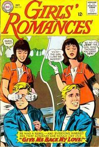 Cover Thumbnail for Girls' Romances (DC, 1950 series) #112