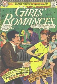 Cover Thumbnail for Girls' Romances (DC, 1950 series) #115