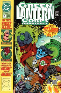 Cover Thumbnail for Green Lantern Corps Quarterly (DC, 1992 series) #1 [Direct]