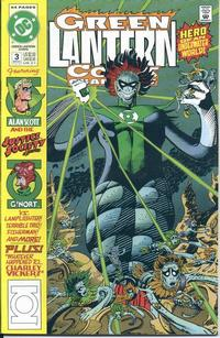 Cover Thumbnail for Green Lantern Corps Quarterly (DC, 1992 series) #3 [Direct]