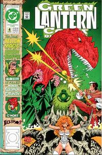Cover Thumbnail for Green Lantern Corps Quarterly (DC, 1992 series) #4 [Direct]