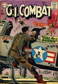 Cover Thumbnail for G.I. Combat (DC, 1957 series) #55