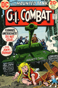 Cover for G.I. Combat (DC, 1957 series) #165