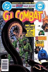 Cover for G.I. Combat (DC, 1957 series) #262 [Newsstand]