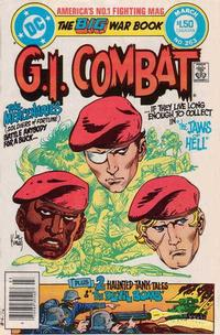 Cover for G.I. Combat (DC, 1957 series) #263 [Direct]