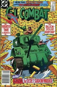 Cover Thumbnail for G.I. Combat (DC, 1957 series) #279 [Newsstand]