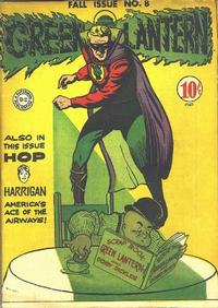 Cover Thumbnail for Green Lantern (DC, 1941 series) #8