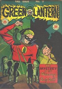 Cover Thumbnail for Green Lantern (DC, 1941 series) #17