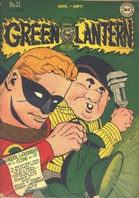 Cover Thumbnail for Green Lantern (DC, 1941 series) #21