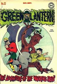 Cover Thumbnail for Green Lantern (DC, 1941 series) #22