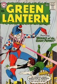Cover Thumbnail for Green Lantern (DC, 1960 series) #1