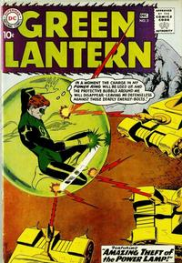 Cover Thumbnail for Green Lantern (DC, 1960 series) #3