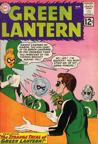 Cover Thumbnail for Green Lantern (DC, 1960 series) #11