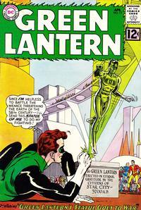 Cover Thumbnail for Green Lantern (DC, 1960 series) #12