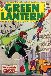 Cover Thumbnail for Green Lantern (DC, 1960 series) #25