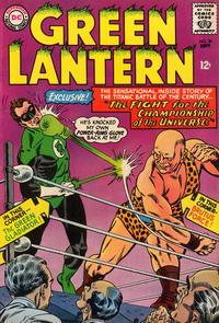 Cover Thumbnail for Green Lantern (DC, 1960 series) #39